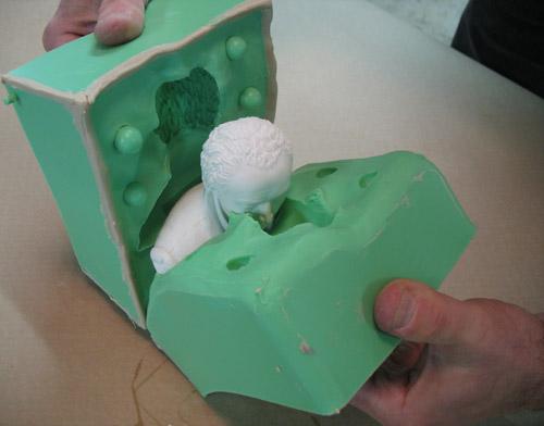 石膏工艺品模具硅胶特性